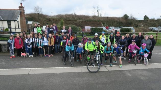 Fundraising for Laura on Tarka Trail
