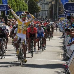Cycling tour of Britain comes to Barnstaple
