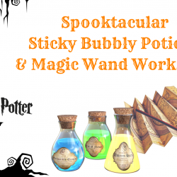 Spooktacular sticky bubbles halloween