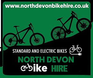North Devon Bike Hire - standard and electric bikes
